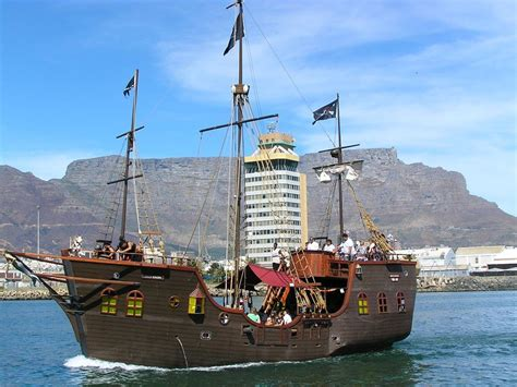 pirate boat jolly roger jolly roger pirate boat daytime cruise cape town city pass