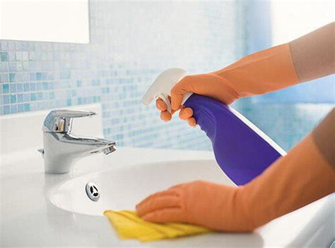 steps in cleaning the bathroom how to clean your bathroom like a pro one good thing by