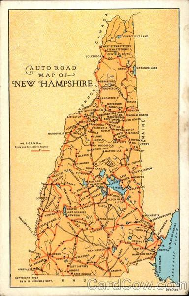 road map new hshire usa 1000 images about road maps of the united states on