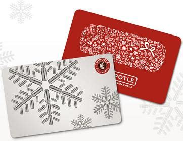 Where Can I Get Chipotle Gift Cards - 4 easy last minute gift ideas for the holidays