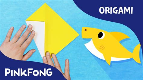 origami song baby shark animal song with origami pinkfong origami