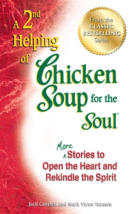 a 2nd helping of chicken soup for the soul book by canfield victor hansen