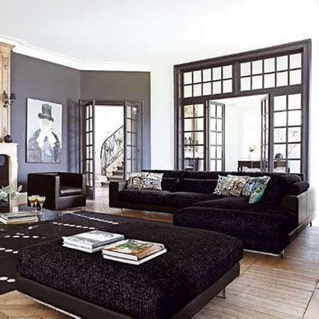 Living Room Black Furniture Decorating Ideas by Living Room Decorating Ideas With Brown Sofa Home