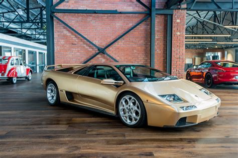 lamborghini car gold 2001 lamborghini diablo vt 6 0 se richmonds classic