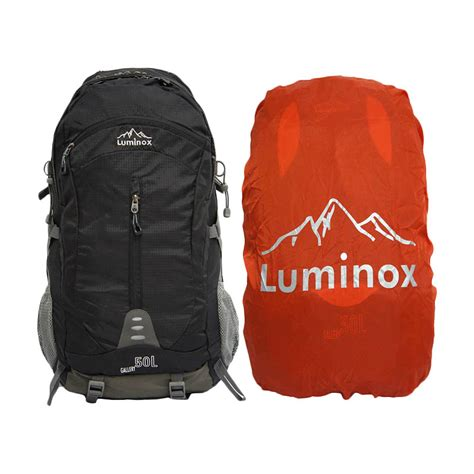 Tas Ransel Mountaineering 50l Black 1 jual luminox tas 5029 50l ransel gunung hiking backpack warna black brave shoes