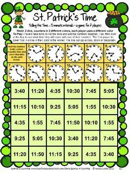 place value right left center game st patrick s day 406 best images about math board games on pinterest math