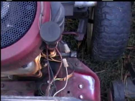 how does a riding lawn mower charge its battery? | yahoo