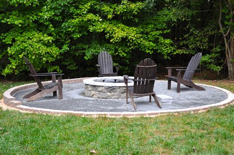 Easy And Cheap Diy Fire Pit Ideas With Stone Bricks And Cheap Backyard Pit Ideas