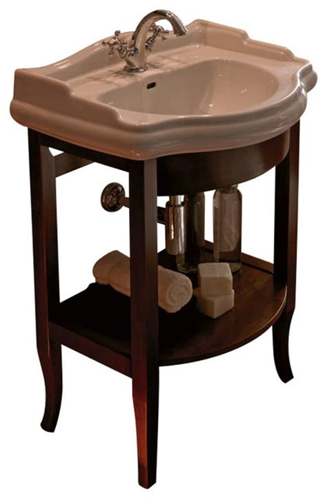 Retro Bathroom Vanities by Ws Bath Collections Retro Bathroom Vanity With One Faucet