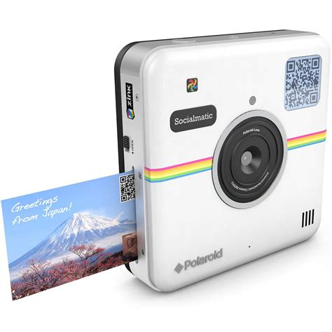 that prints photos instantly polaroid socialmatic instant digital