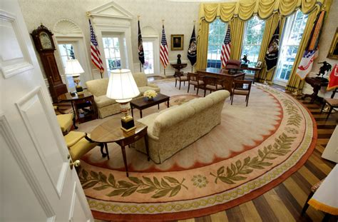 trump has already redecorated the oval office new york post trump white house spending 1 75 million on new furniture