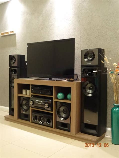 Home Theatre Sony Muteki mueble para home theater sony muteki 9556 mla20017453455 122013 f jpg 720 215 960 mobiliario