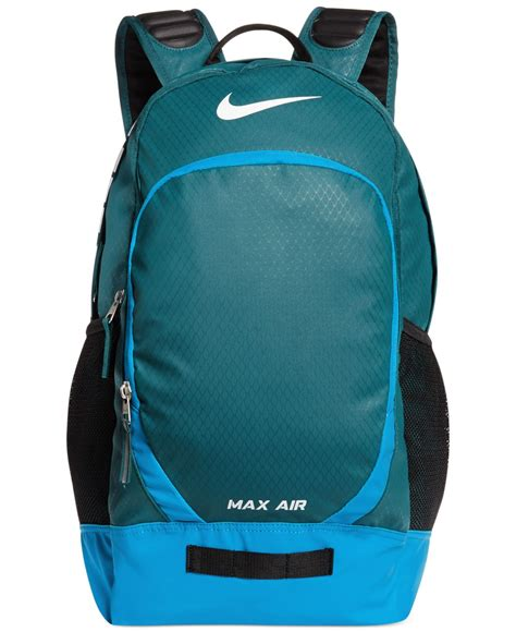 Max Backpack Blue nike max air team large backpack in blue for