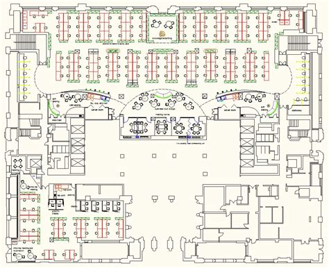 Cost Efficient Floor Plans by Office Layout Planning Space Planning Uk