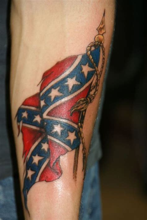 confederate flag tattoos rebel flag tattoos 11 inspiring designs picnic