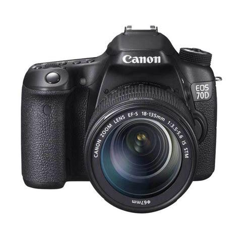 Kamera Canon Eos 70d Kit 3 Jual Canon Eos 70d Kit 18 135mm Is Stm Wifi Kamera Dslr Hitam Harga Kualitas
