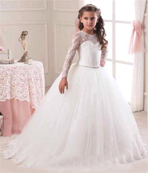 Flower Dress Sale2302 sale 2016 sleeve flower dresses for weddings