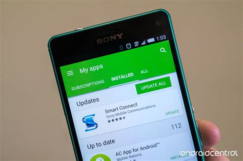 how do i update my android phone updating your apps through play android central