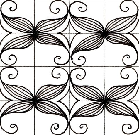 zentangle patterns tangle patterns scrolled feather 516 best zentangle art tangles quot s quot images on pinterest