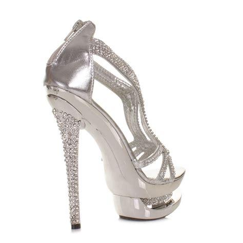 high heels for formal silver evening heels fs heel