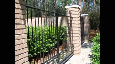 home depot garden fence  youtube