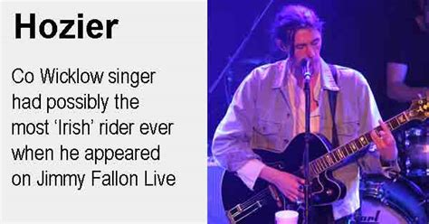 hozier us store hozier s very irish rider on jimmy fallon live ireland
