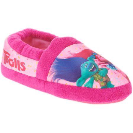 house shoes for girls girls trolls slippers 4 75 reg 9 97