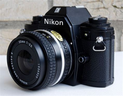 nikon em with nikon lens series e 35 mm 1 2 5 catawiki