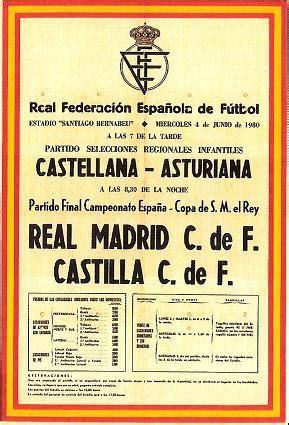 Calendario R Madrid Castilla Pe 209 A Madridista La Gran Familia Partidos Memorables Iv