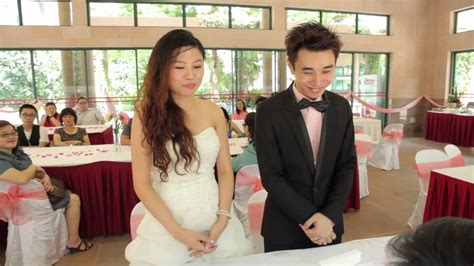 show li xiuqi daughter of pm lee hsien loong gary and weiling wedding youtube