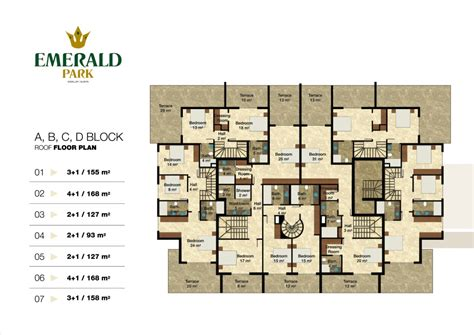 emerald park floor plan emerald park alanya floor plans