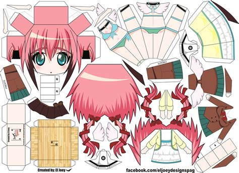 Paper Crafts Anime - ikaros papercraft by eljoeydesigns on deviantart
