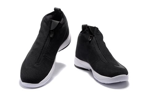 nike zip up basketball shoes shoes for black white black nike zoom