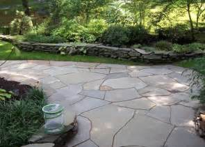 Flag Stone Patio by Trevia Artificial Flagstone A New Option For Patios And