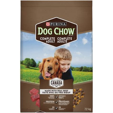 purina puppy chow reviews purina 174 chow 174 food with real beef 7 2kg bag walmart ca
