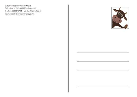 Postkarten Drucken Kosten by Postkarte Kirchmann Medien