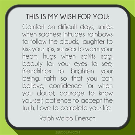 you comfort my wish for you quotes like success
