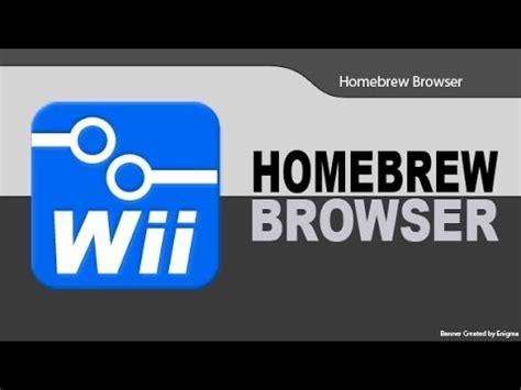 best homebrew apps wii wii install any emulator with homebrew browser funnydog tv