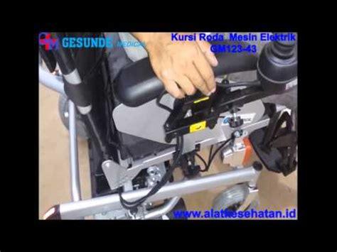 Kursi Roda Mesin kursi roda mesin elektrik gm123 43 www alatkesehatan id alat kesehatan murah lengkap