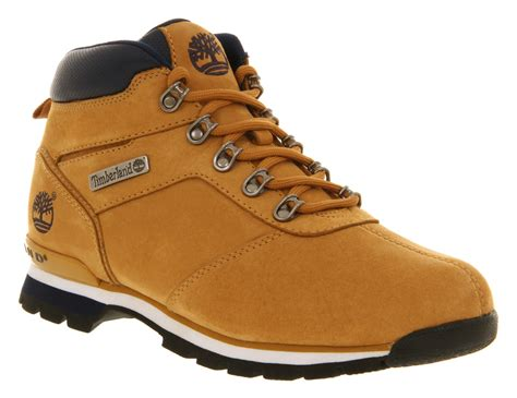 mens timberland boots wheat mens timberland splitrock 2 wheat nubuck boots ebay