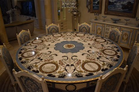 luxury furniture custom mother  pearl boulle