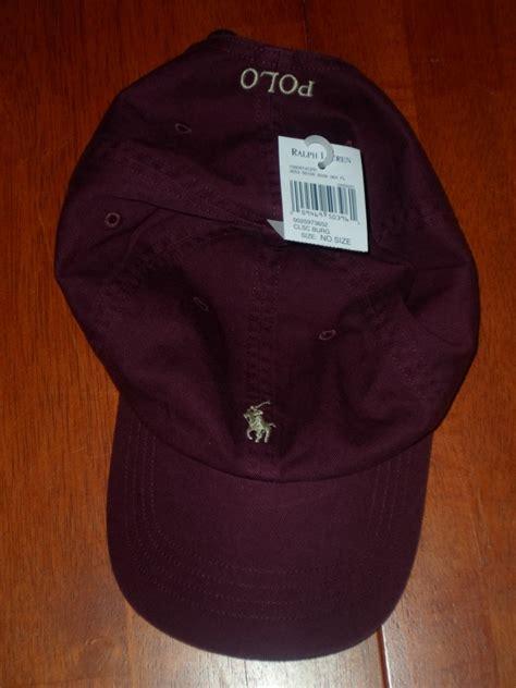 Hkj Topi Basebal Marun Polos Baseball Cap Maroon Hat Import Ius nwt new polo ralph adjustable baseball cap hat assorted colors one size ebay