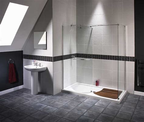 Modern Shower Design | trend homes walk in shower modern design