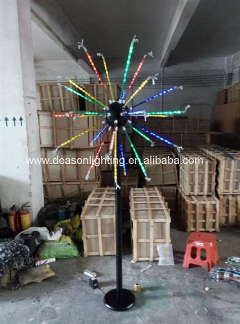 outdoor led firework light decorations christmas light