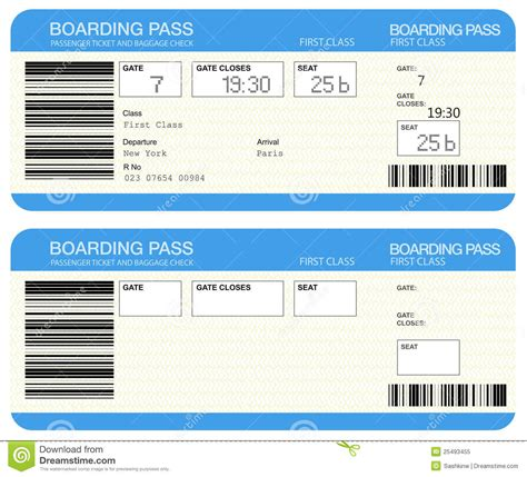 plane ticket template airline ticket template