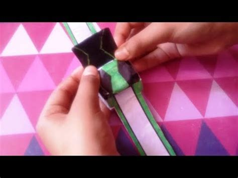 How To Make Paper Omnitrix - box omnitrix boxes ben10 omnitrix