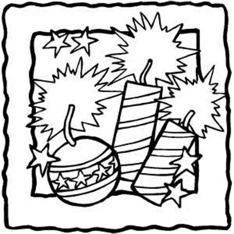 independence day coloring pages printable firecrackers coloring page
