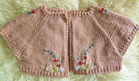 baby shrug knitting pattern free ravelry knit baby shrug pattern by natalie haban