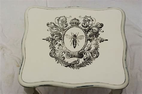 print transfer shabby chic furniture water decal slide paper vintage queen bee ebay