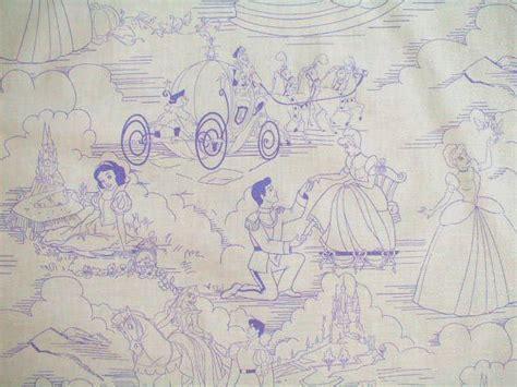 disney toile wallpaper springs disney princess 5716 toile purple fabric disney